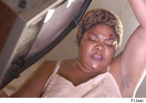 Mo'nique as Precious' terrifying, abusive mother