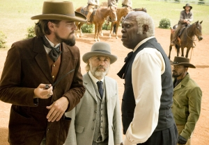 Christoph Waltz and Schultz and Samuel L Jackson as Steven, Django Unchained's most out of place and unexplainable character