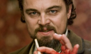 DiCaprio takes a frightening turn as psychotically menace Candie