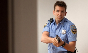 Bradley Cooper as Avery - a well meaning cop who is dragged reluctantly into the role of hero and subsequently corruption in the police force