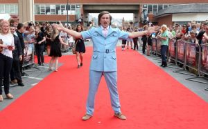 Norwich World Premier - in typical Partridge fashion