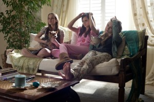 The Bling Ring pokes fun at fashion trends, making them seem ridiculous