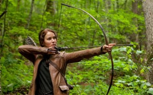 Katniss is the ultimate positive view of young women that we have seen on screen for a long time