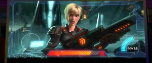 Hero's Duty - Calhoun voiced magnificently by Jane Lynch
