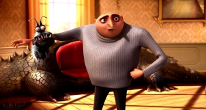 Gru and his pet... dog?