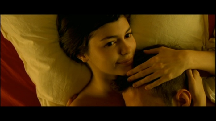 Amelie focuses on the cause and effect of love rather than relationships