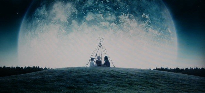 The visuals in Melancholia alone are breathtakingly beautiful