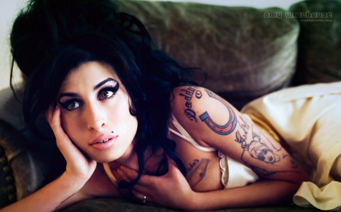 Amy's distinctive look became almost as synonymous as her music