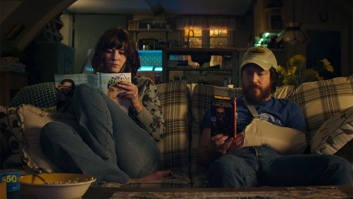 10 Cloverfield Lane creates fragments of time that are secure and safe and contrasts them with horror and terror